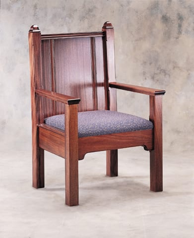 pulpit chair