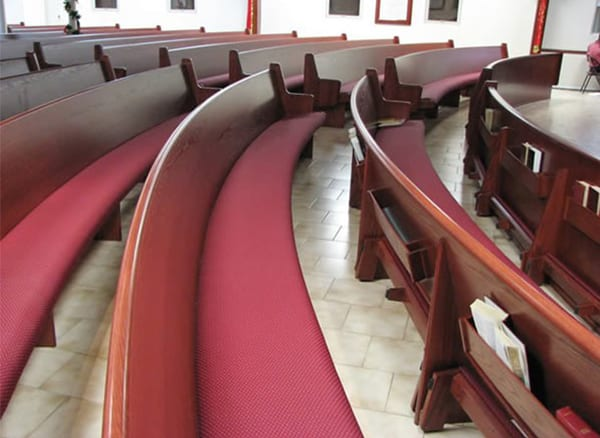 Curved Pews