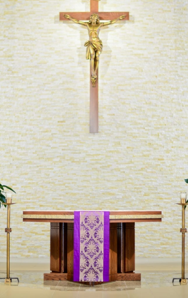 Altar and Cross