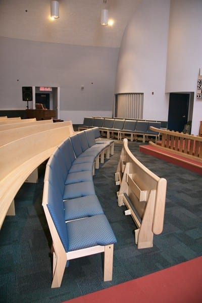 Individual Pew Chairs