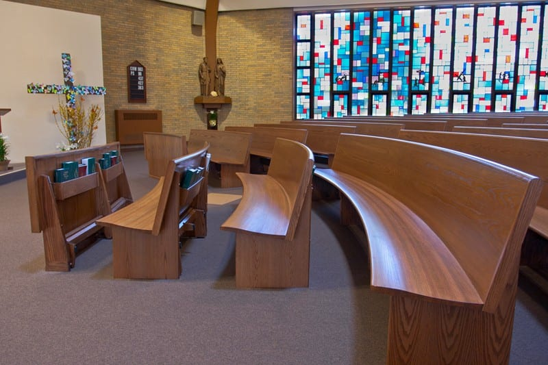 Endless Curved Pews