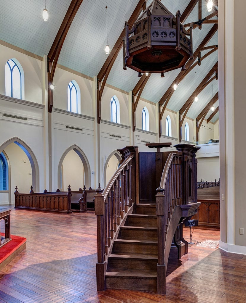 pulpit stairs