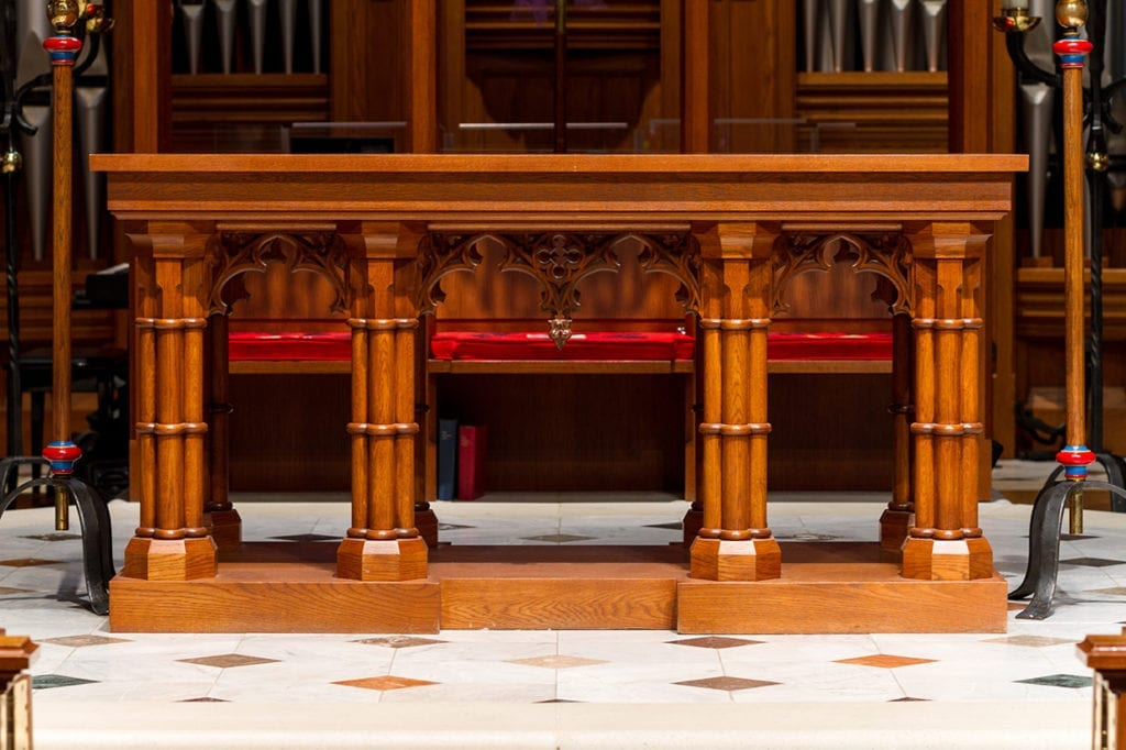 custom communion rail