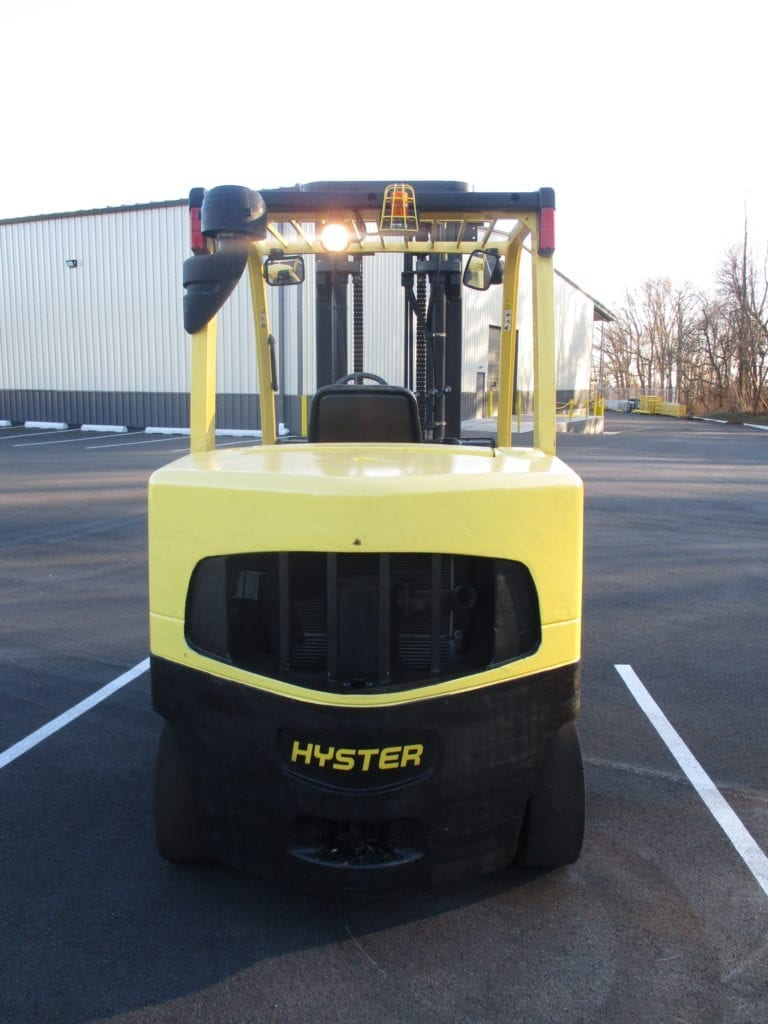 hyster cushion forklift