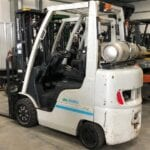 UniCarriers forklift available for rent at Sam's Mechanical