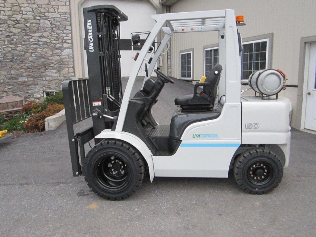 Pre-owned UniCarriers PF60LP Forklift for sale at Sam's Mechanical