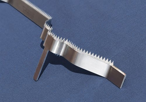 Curved Toothed Blade