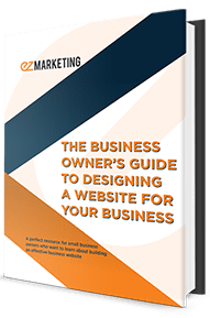 Book Mockup of The Business Owner's Guide to Designing a Website for Your Business
