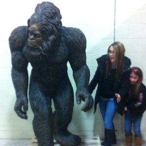Marie and Bigfoot