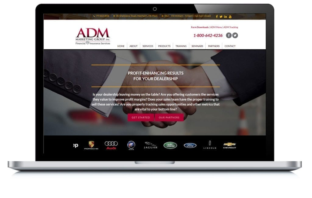 Example of ADM Marketing Group