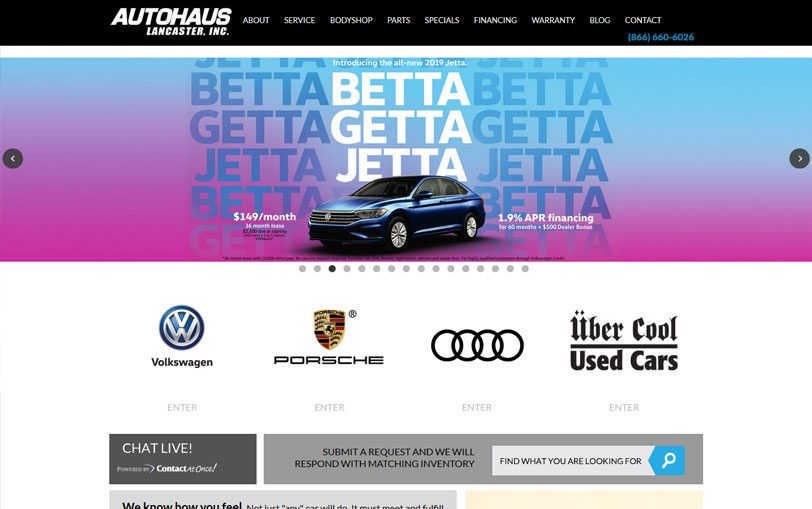 Example of Autohaus