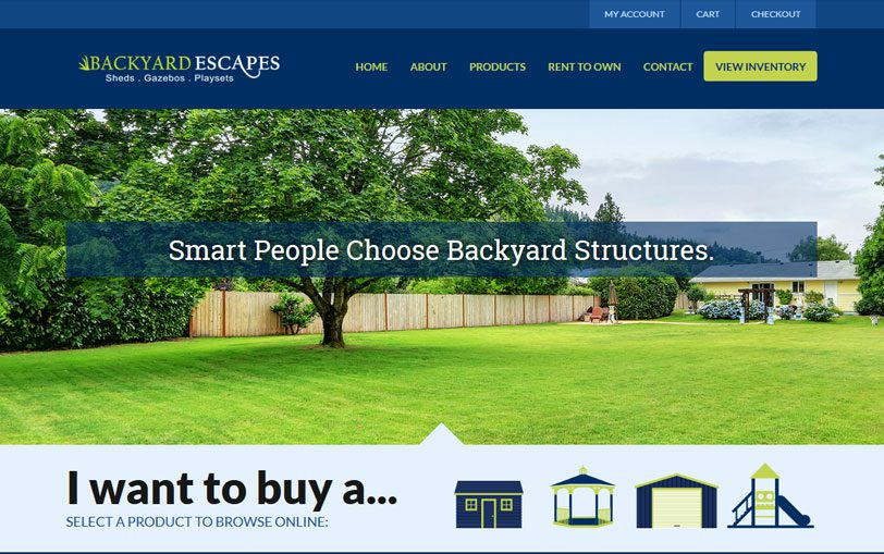 Example of Backyard Escapes