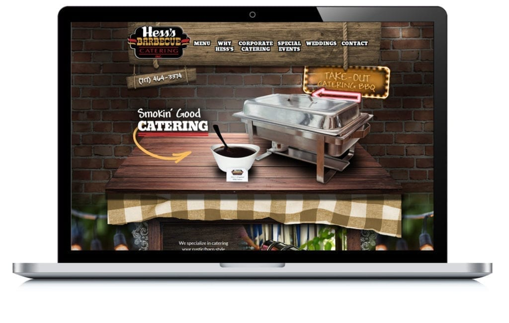 Example of Hess's Barbecue Catering