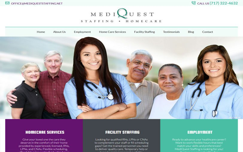 Example of MediQuest Staffing