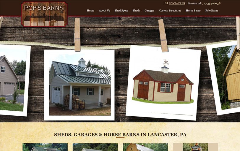Example of Pop's Barns