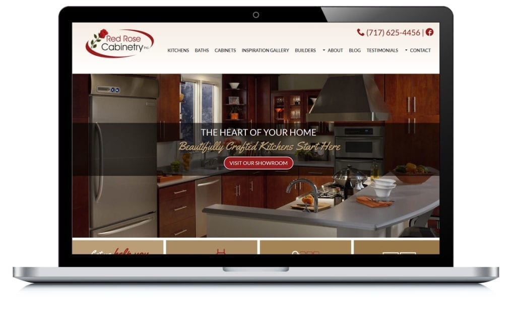 Example of Red Rose Cabinetry