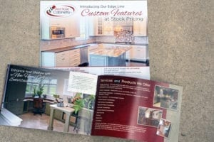 Print example for Red Rose Cabinetry