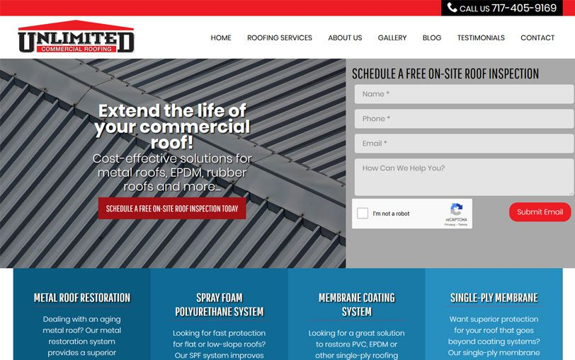 Example of Unlimited Commercial Roofing