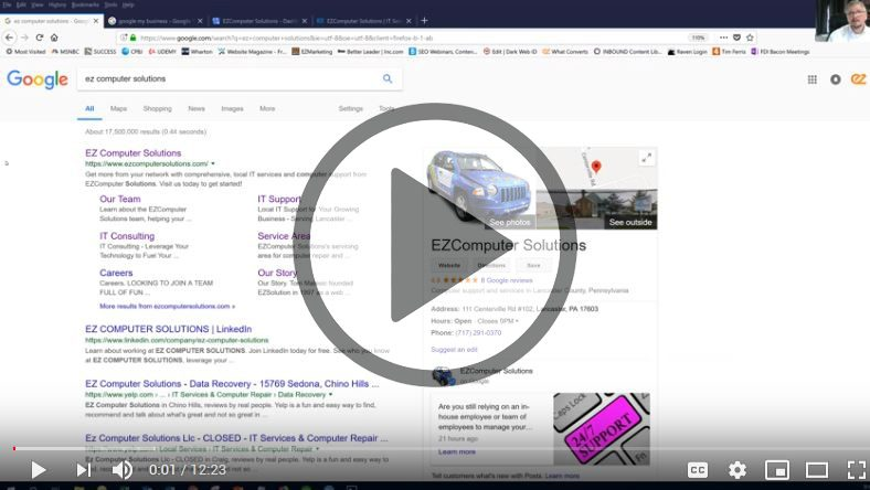 How to Optimize your Google listing