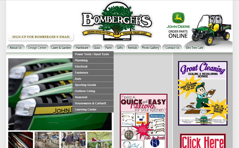 Bombergers-homepage-BEFORE