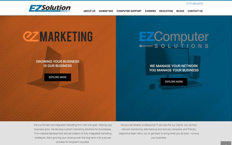 Example of EZSolution