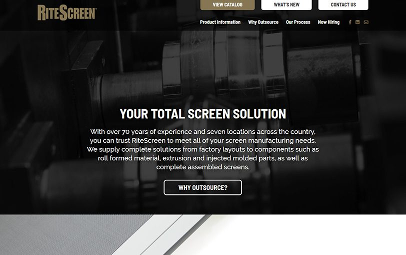 Example of RiteScreen