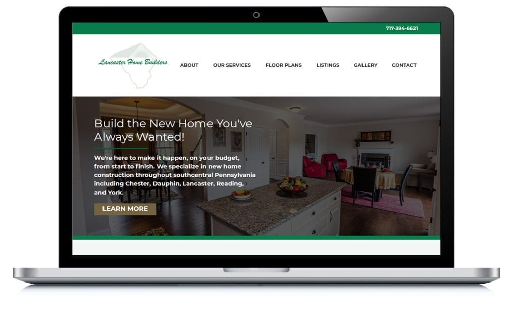 Example of Lancaster Home Builders