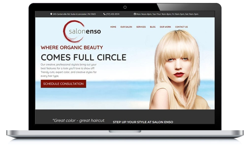 Example of Salon Enso