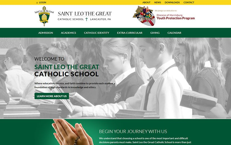 Example of St Leo the Great Catholic School