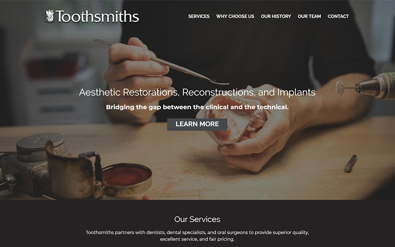 Example of Toothsmiths