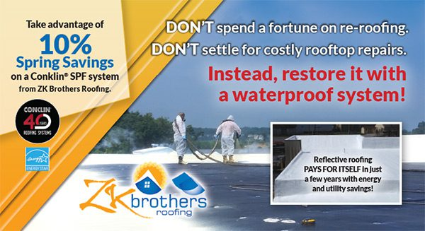 ZK Brothers Roofing Postcard