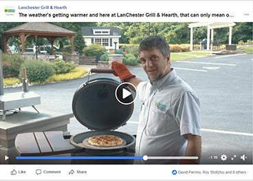 Lanchester Grill & Hearth Facebook ad