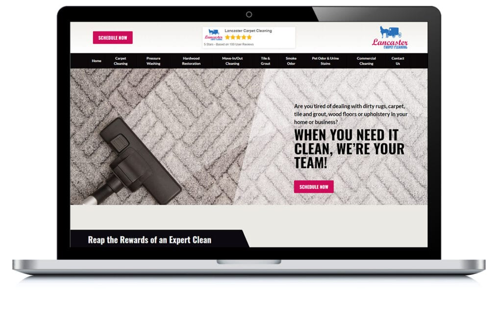 Example of Lancaster Carpet Cleaners