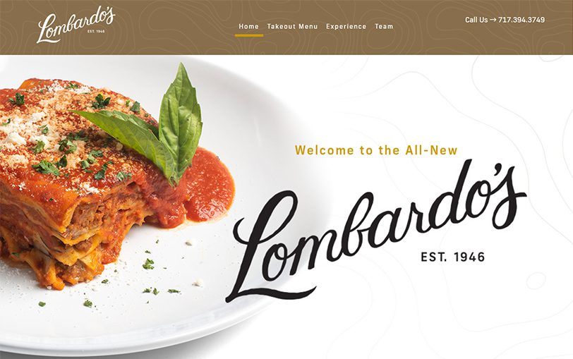 Example of Lombardo's Restaurant