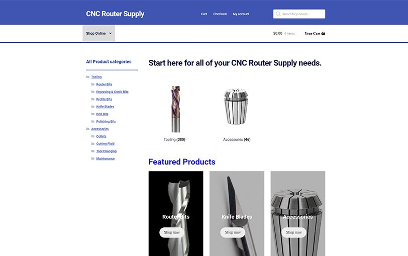 Example of MultiCam East – CNC Router Supply