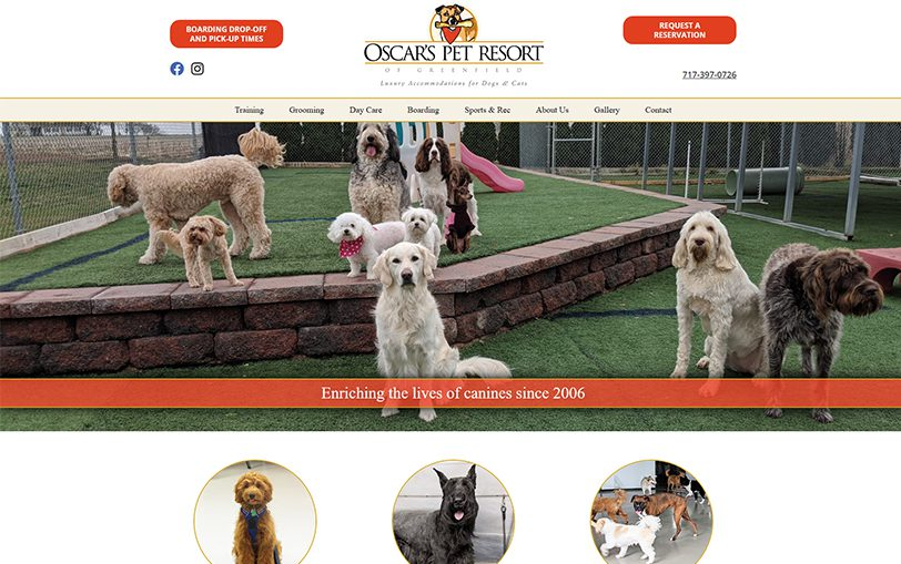 Example of Oscar's Pet Resort of Greenfield
