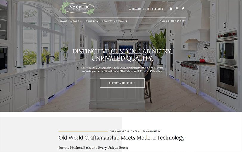 Example of Ivy Creek Custom Cabinetry
