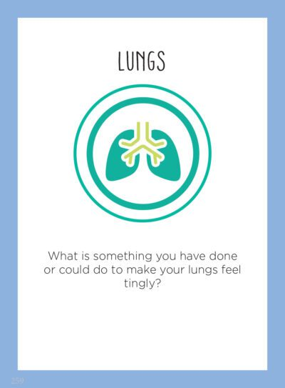Interoception Activity Card - Lungs