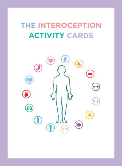 Interoception Activity Cards Front Cover
