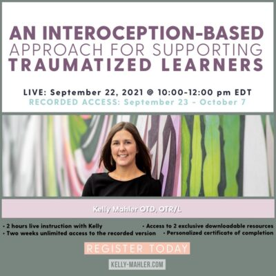 An Interoception-Based Approach for Supporting Traumatized Learners