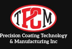 Precision Coating company logo in footer