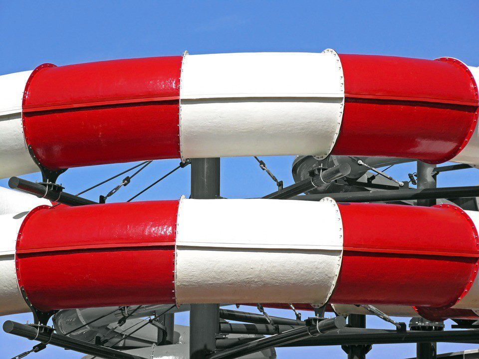 red and white coated application