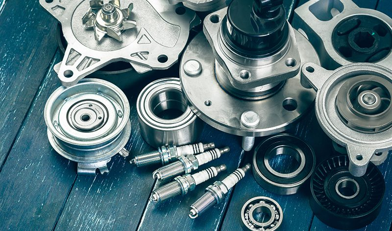 coated auto parts