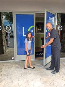 opening doors at LOA