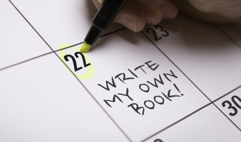 Write my own book calendar event
