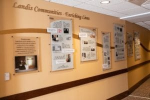 Landis Communities Wall