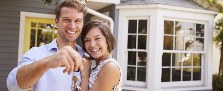 couple after new home purchase Lanco Credit Union