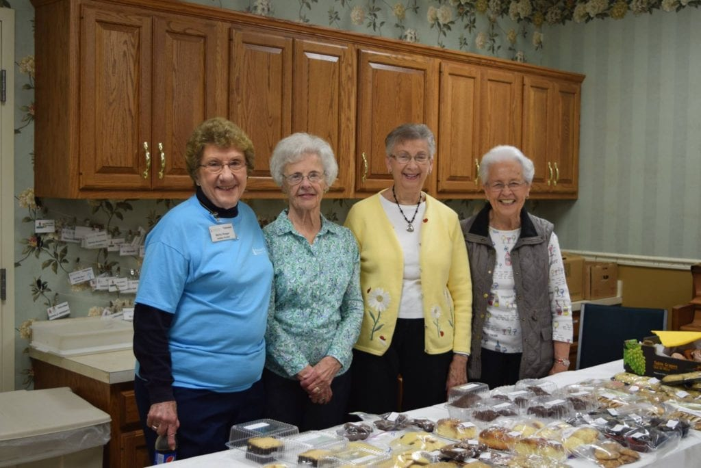 Elderly Residents at Pleasant View Retirement Village