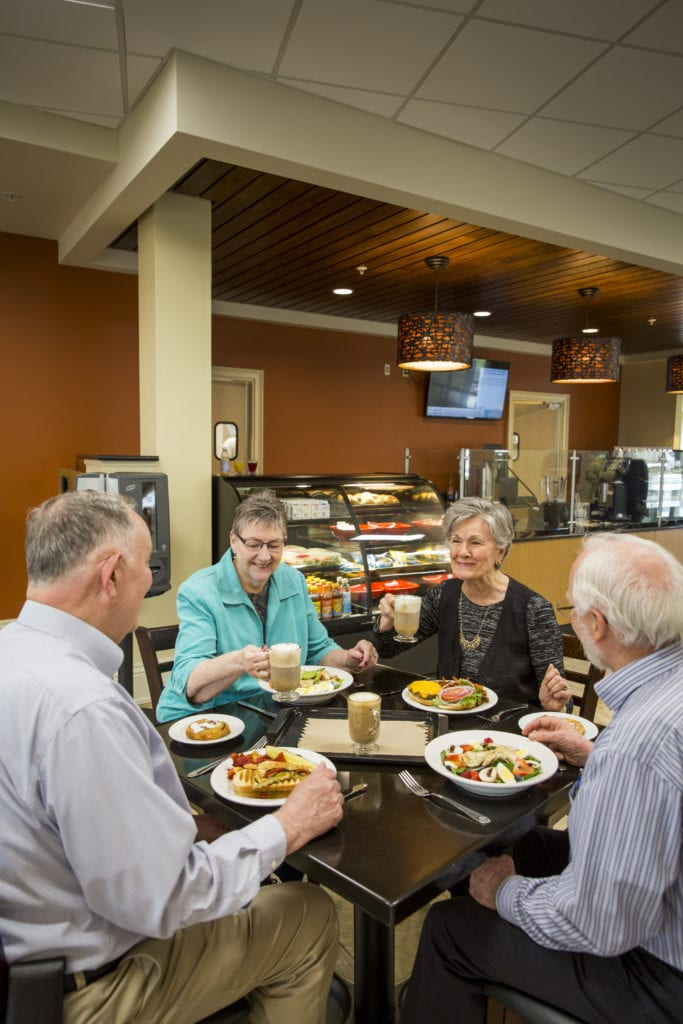 Quarryville Retirement home dining experience