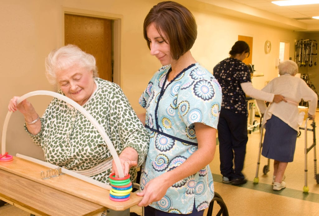 Final stages of rehab at St. Anne's Retirement